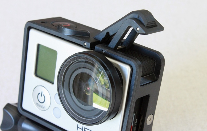 Le cadre GoPro