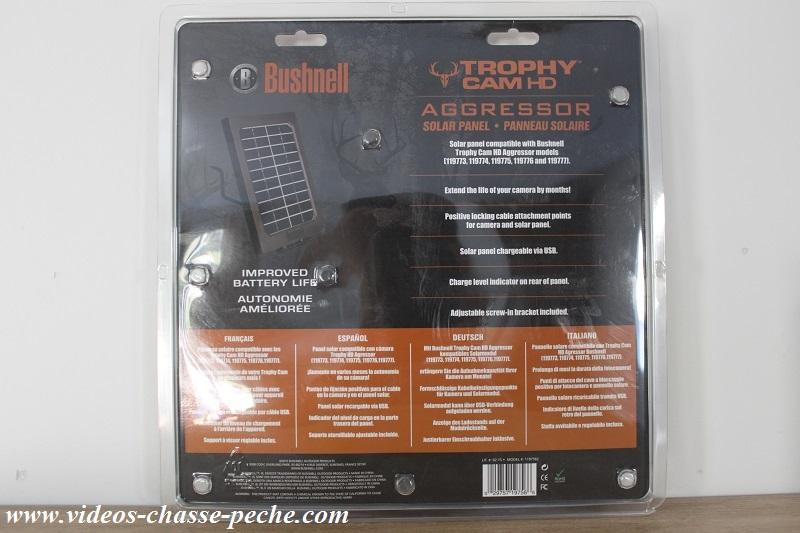 Panneau solaire Bushnell Aggressor 119756