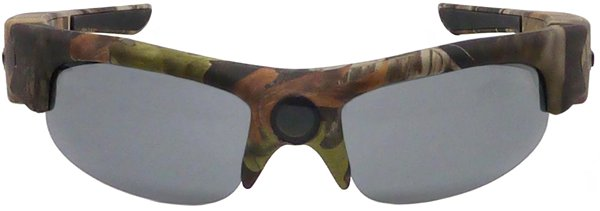 df279eeeafc160 Camsports Natureye, lunettes caméra HD camo