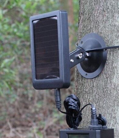 Alimentation externe pour piège photographique (trail camera)