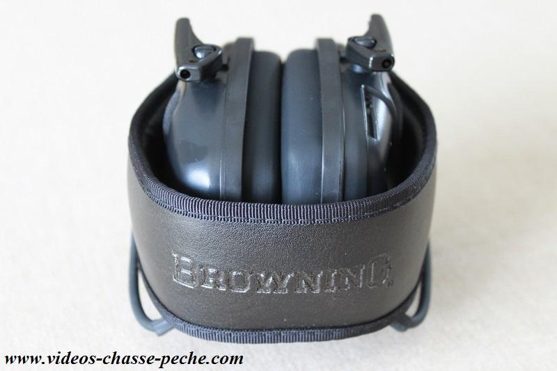 Casque électronique de protection auditive Browning