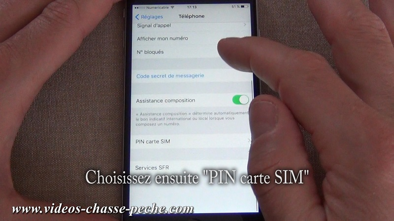 Désactiver code PIN carte SIM