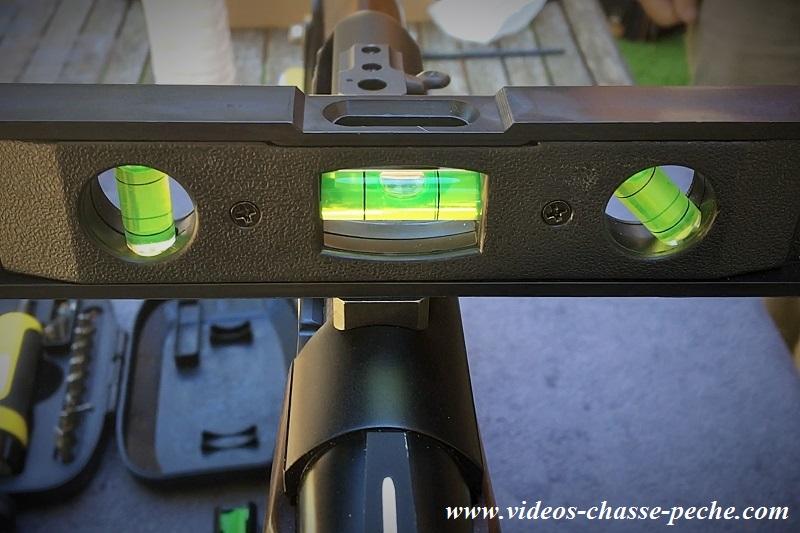 Montage lunette de visée Leupold VX6
