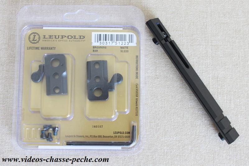 Montage pivotant Leupold QR rail Weaver