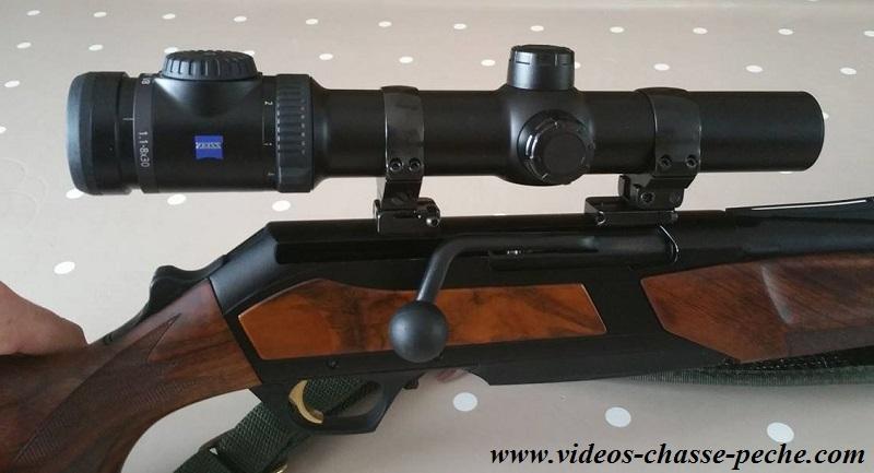 Optique vidée Browning Maral