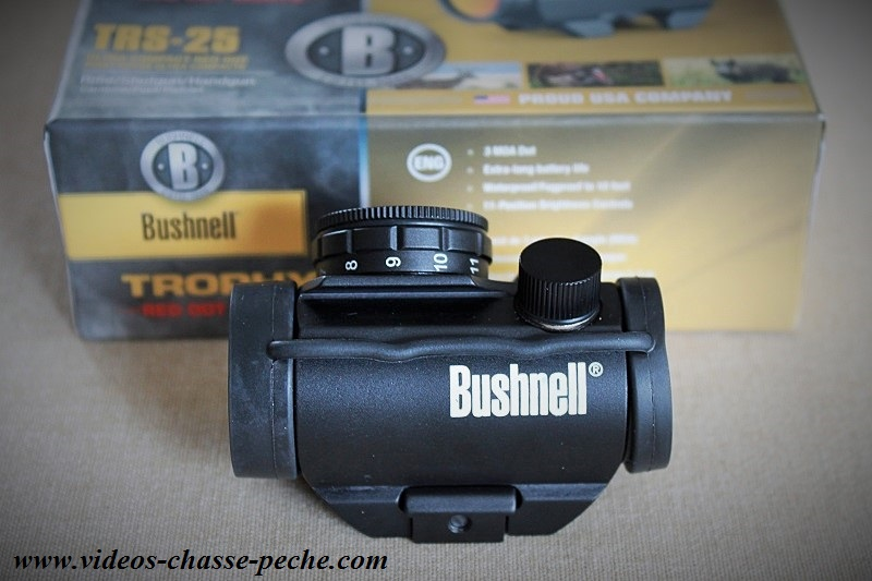 Point rouge Bushnell TRS 25