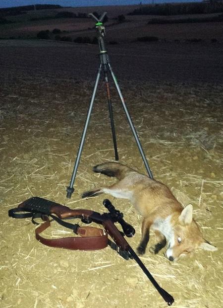 Tripode de tir Primos pour renard