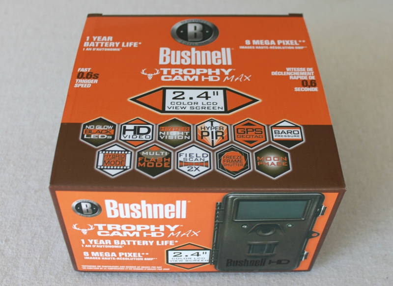 Bushnell Trophy Cam HD Max 2013