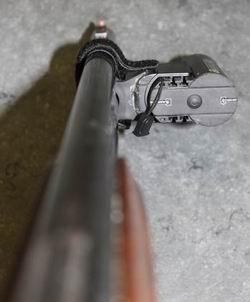 Contour HD sur canon fusil