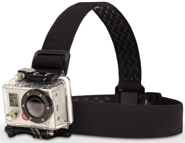 GoPro HD 2 bandeau frontal