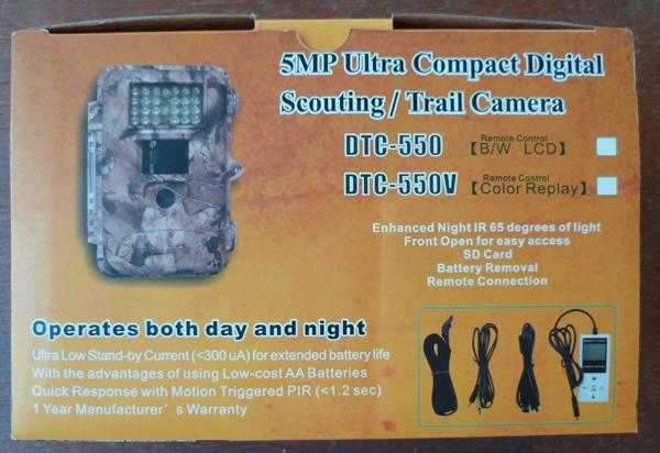 Scoutguard DTC 550 - Piège vidéo et photo