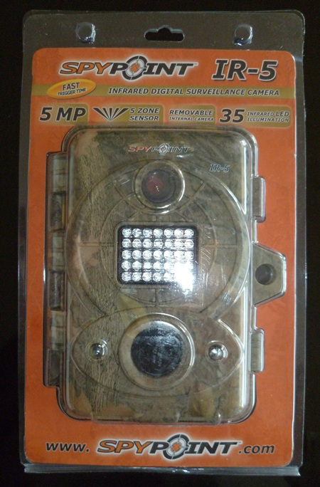 Spypoint IR 5 emballage