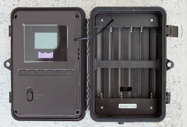 Bushnell Trophy Cam Security 119466 intérieur