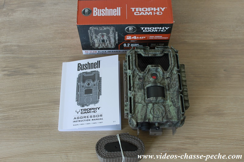 Bushnell Trophy Cam Aggressor No Glow 119877