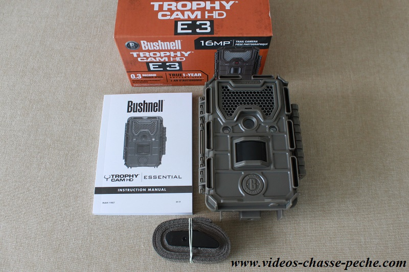 Bushnell Trophy Cam Essential E3 119837