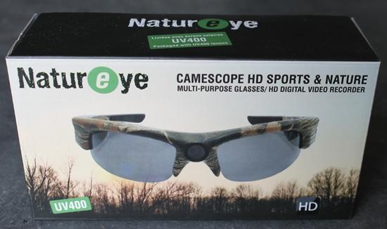0c9c437442f32f Camsports Natureye - Lunettes caméra embarquée HD