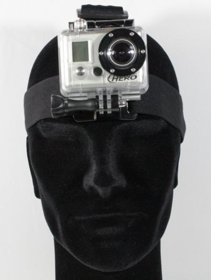 GoPro bandeau frontal