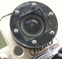 GoPro HD lentille plate