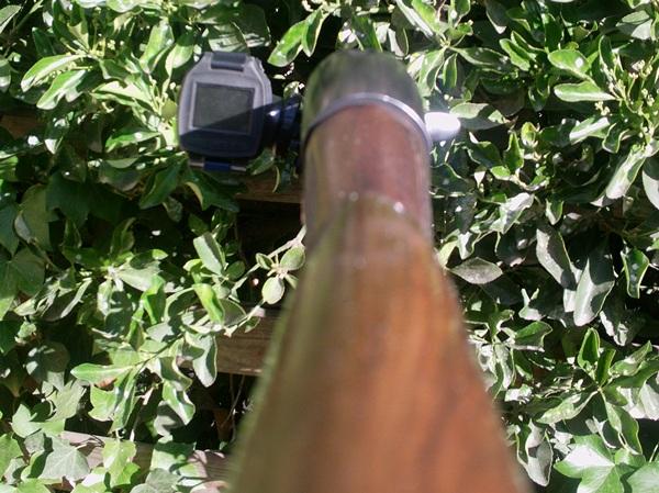 Caméra chasse Oregon ATC5K sur fusil