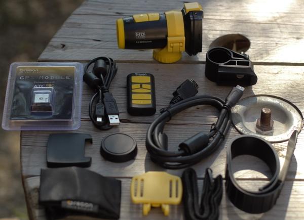 Accessoires caméra embarquée HD Oregon ATC9K