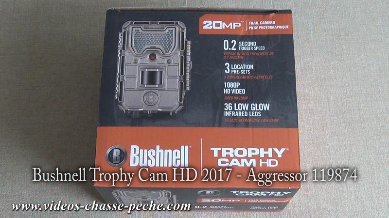 Bushnell Trophy Cam Aggressor Low Glow 2017 réf. 119874