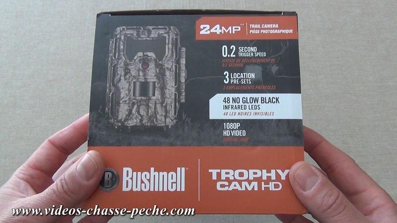 Bushnell Trophy Cam Aggressor No Glow 2017 réf. 119877