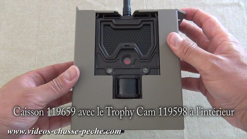 boitier de sécurité Bushnell 119659
