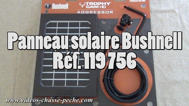 Panneau solaire Bushnell